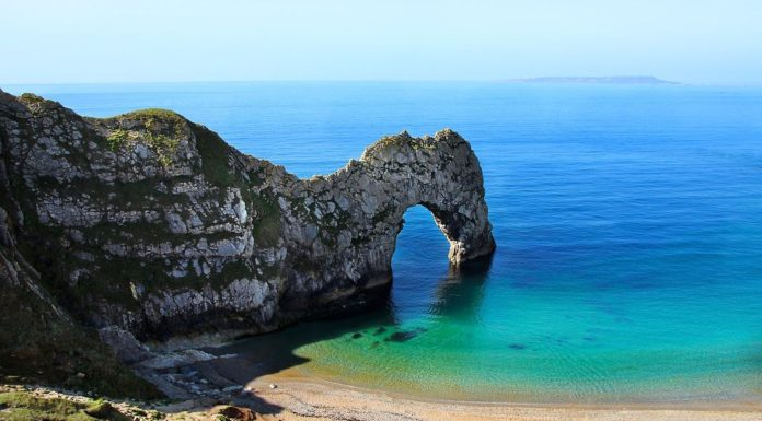Beautiful Durdle Door in England