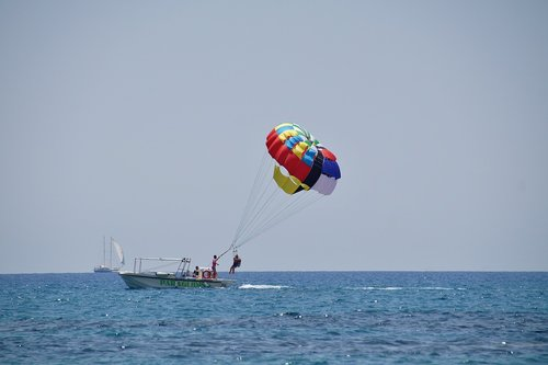 Parasailing at Goa