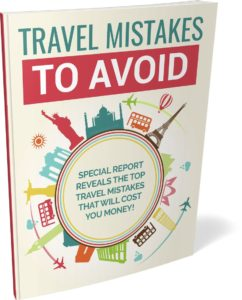 travel mistakes to avoid ebook