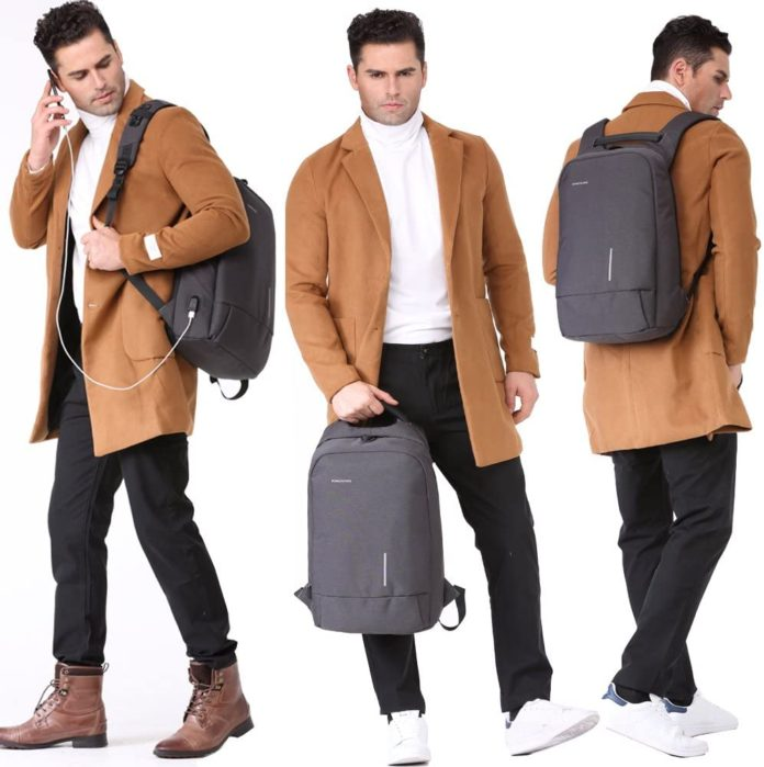 best anti theft backpack uk